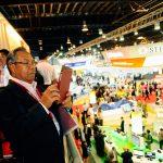 Founding Patron MG (Ret'd) Pehin Dato Haji Mohammad Haji Daud enjoying the tour