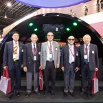 L to R: General (Ret'd) Pitsanu Urailert, General (Ret'd) Chokechai Hongstong, General (Ret'd) (Dr) Mongkon Ampornpisit, ACM (Ret'd) Amorn Naewmalee and General (Ret'd) Winai Phattiyakul enjoying the VIP tour at the Singapore Air Show 2016