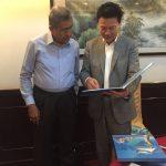 GEN (Ret'd) Mahmud Suleiman with Ambassador Zhou Jianchun, Director of Zhuhai Foreign Affairs Office