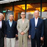 Group photo of the Founding Patrons  from L to R: Lieutenant-General (Ret'd) Winston Choo, Major-General (Ret'd) Pehin Dato Haji Mohammad Haji Daud, Former Vice-President (Ret'd) Try Sutrisno, General (Ret'd) Tan Sri Mohamed Hashim Bin Mohd Ali and Lieutenant-General (Ret'd) Ng Jui Ping