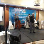 MG (Ret'd) Dato Abidin sharing a tune at dinner.